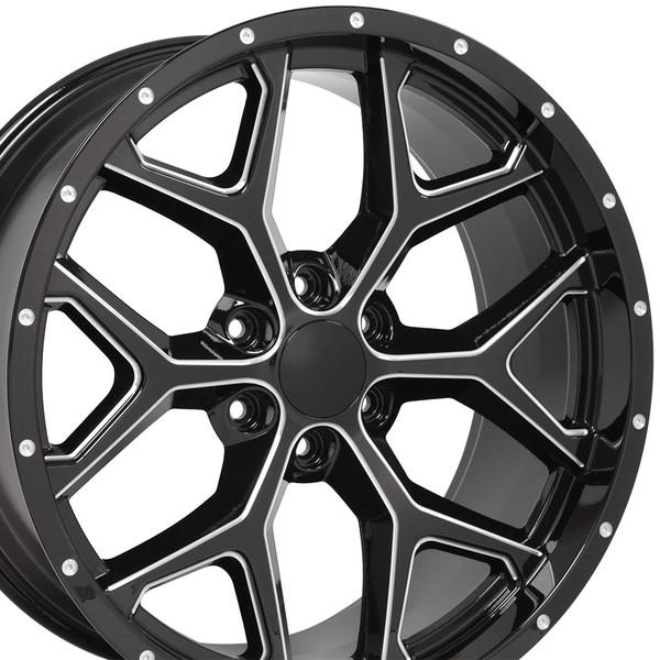 Snowflake Wheel CK156 Silverado