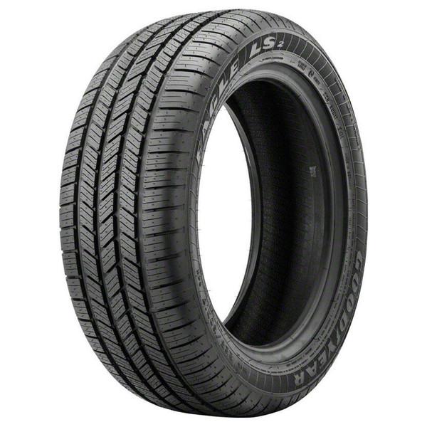 Satin Black Rims Goodyear Tires Fit Gmc Sierra 20x9 Set