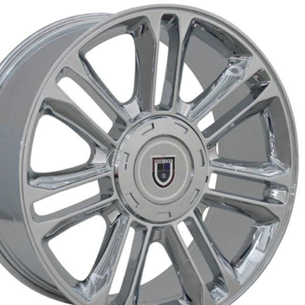 "20"" Wheel For Cadillac Escalade CA83 20x9 Chrome Cadillac Rim"
