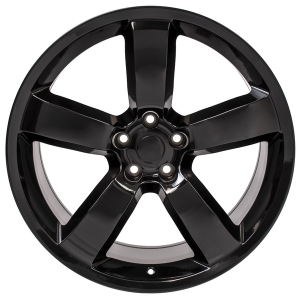 Black SRT Rims