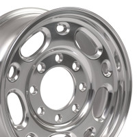 16x6.5 Polished rim for GMC Savana