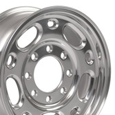 16x6.5 Polished rim for GMC Savana