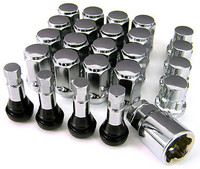 Chrome Lugs Locks and Stems