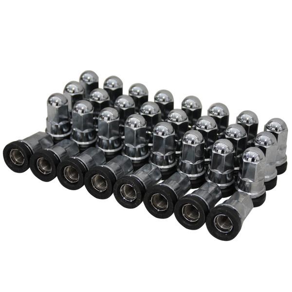 14x2 Chrome Truck Lug Nuts 32 Set