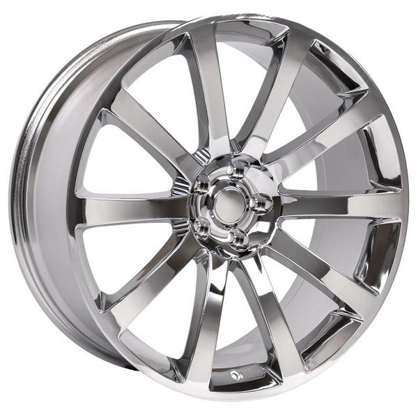 Chrysler 300 SRT Style Replica Wheel Chrome 20x9