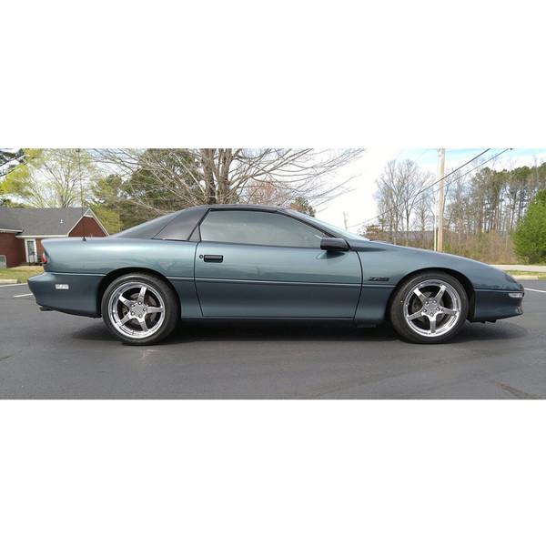 CV05 chrome rims from OE Wheels on a 1993 Camaro.