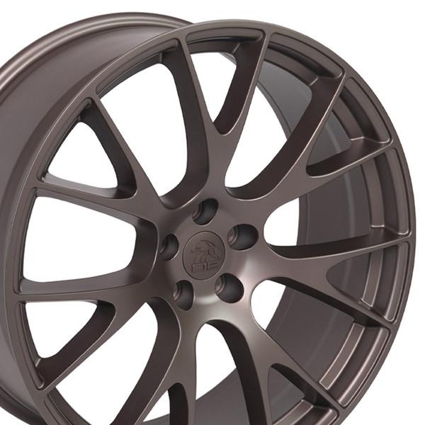 Bronze Hellcat Wheels for Dodge