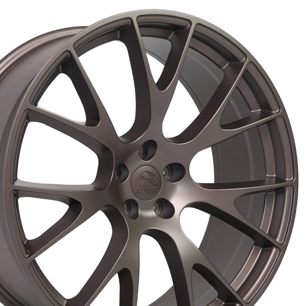 22-inch Bronze Wheels fit Dodge Charger-Challenger (Hellcat style) DG15-2p