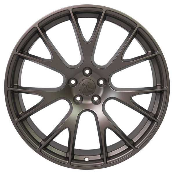 22-inch Bronze Wheels fit Dodge Charger-Challenger (Hellcat style) DG15-1