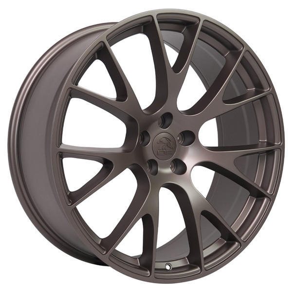 22-inch Bronze Wheels fit Dodge Charger-Challenger (Hellcat style) DG15-2