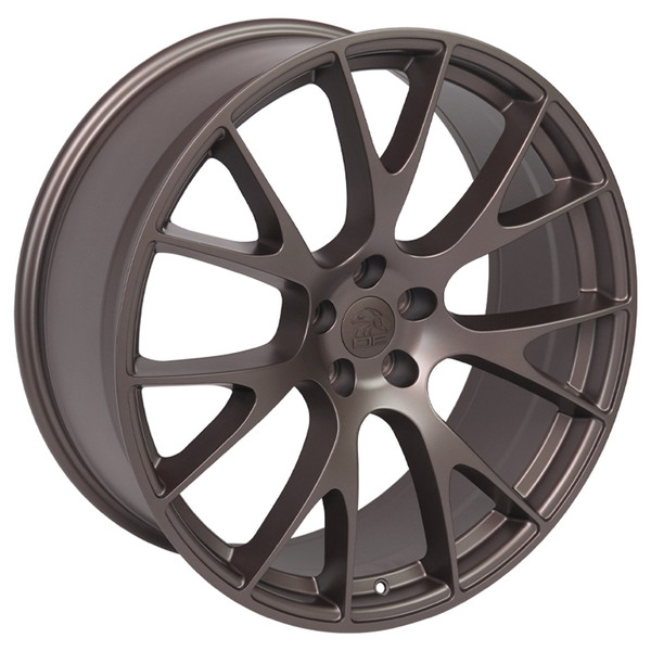 22-inch Bronze Wheels fit Dodge Charger-Challenger (Hellcat style) DG15-3