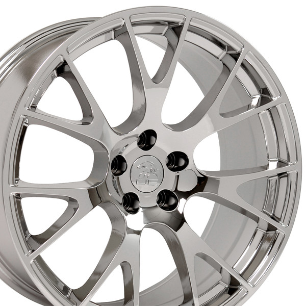 22-inch Chrome Rims fit Dodge Charger-Challenger (Hellcat style) DG15-2p
