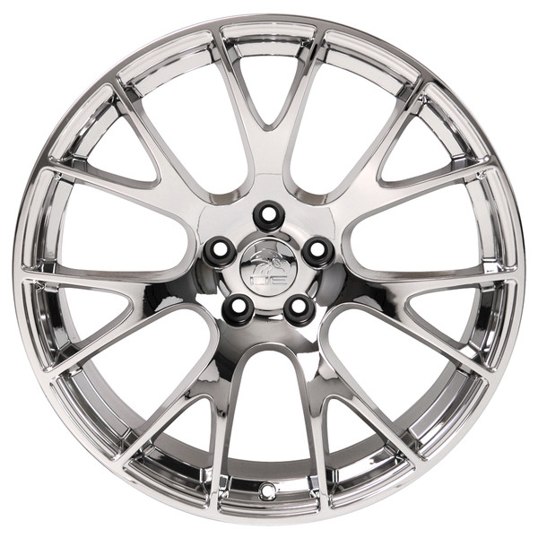 22-inch Chrome Rims fit Dodge Charger-Challenger (Hellcat style) DG15-1