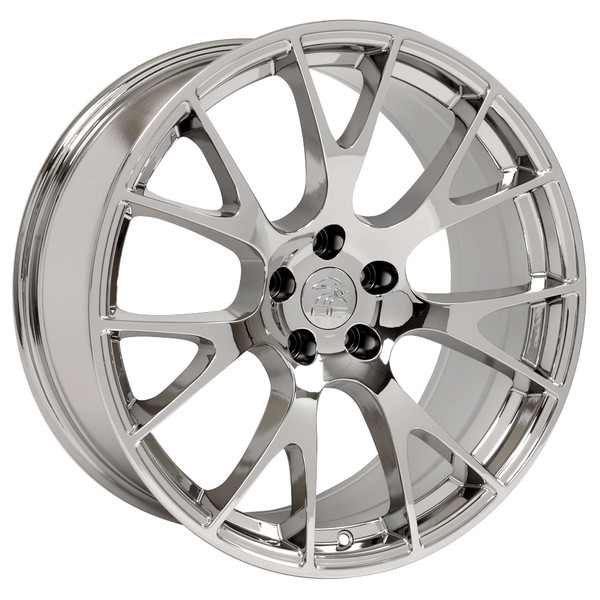 22-inch Chrome Rims fit Dodge Charger-Challenger (Hellcat style) DG15-2