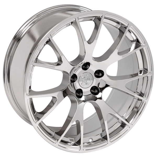 22-inch Chrome Rims fit Dodge Charger-Challenger (Hellcat style) DG15-3