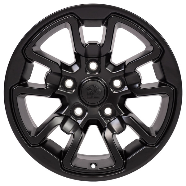 17x8 Rebel style rim that fits Ram