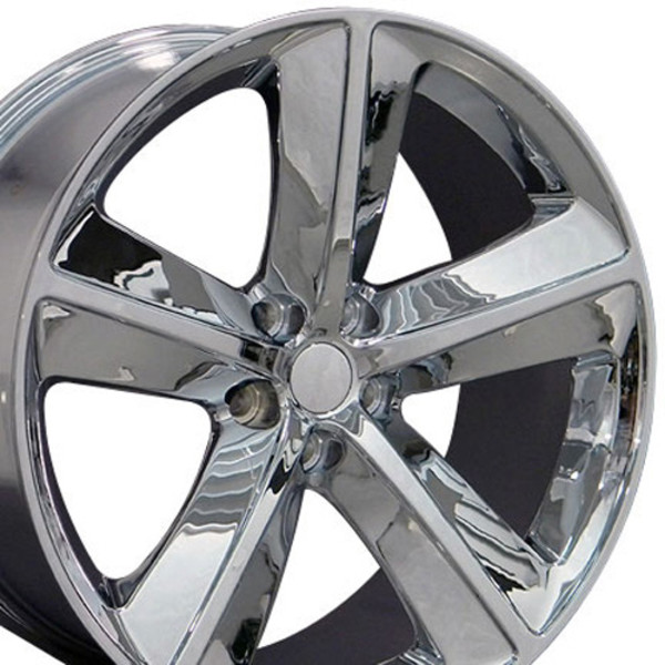 20in Chevy Rims >> DG05 20 inch Chrome Rims for Dodge Challenger-Charger (SRT style)