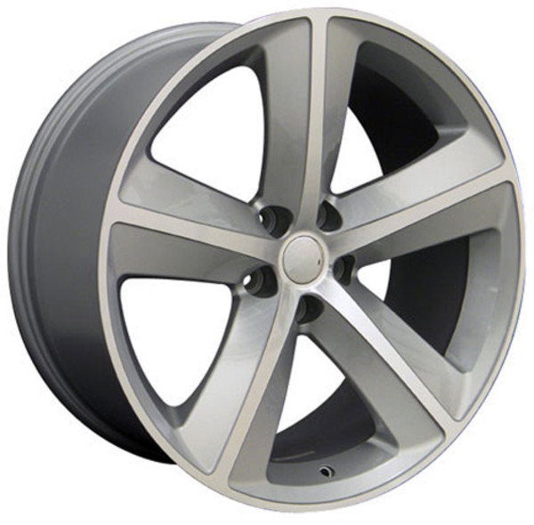 DG05 20 inch Silver Machined Wheels for Dodge Challenger ...