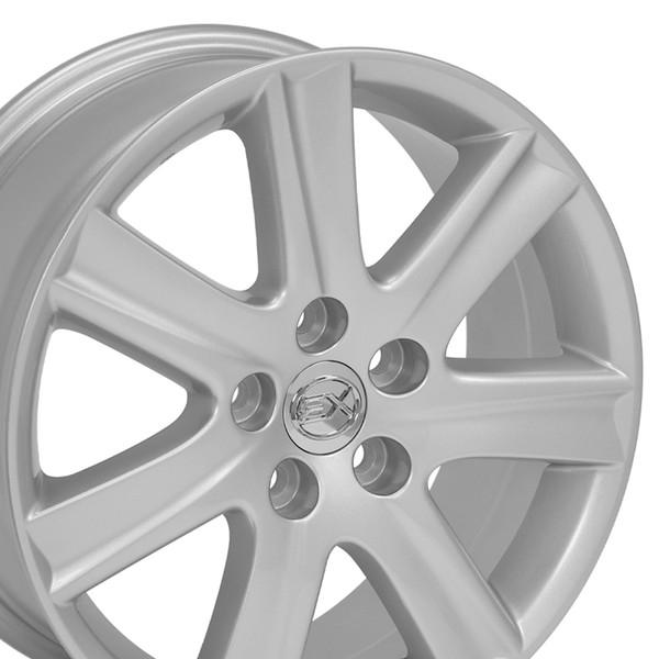 Lexus Es 350 Tires: Lexus ES 350 Style Replica Wheels Chrome17x7 SET