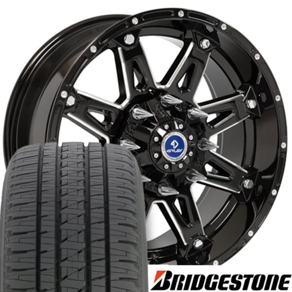 Black Rims Bridgestone Tires Fit Ford F X Set