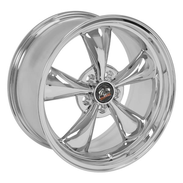 Fr01 18 Inch Chrome Rims Ironman Tires For Ford Mustang Bullitt