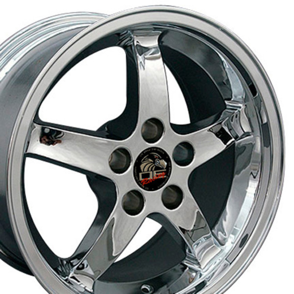 Deep Dish Chrome Wheels Toyo Tires Fit Ford Mustang 17x9 17x10 5