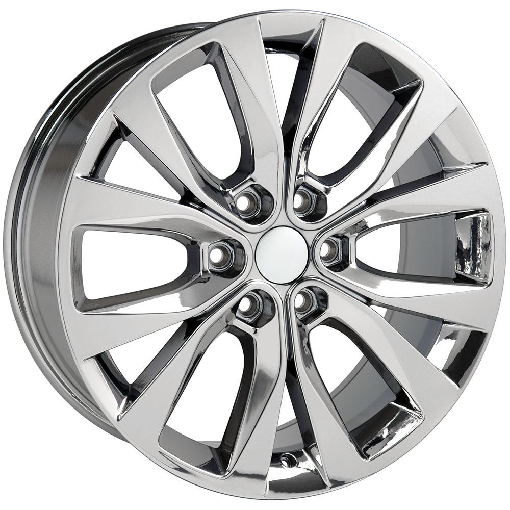 Fr75 Pvd Chrome 20 Inch Rims Goodyear Tires For Ford F 150