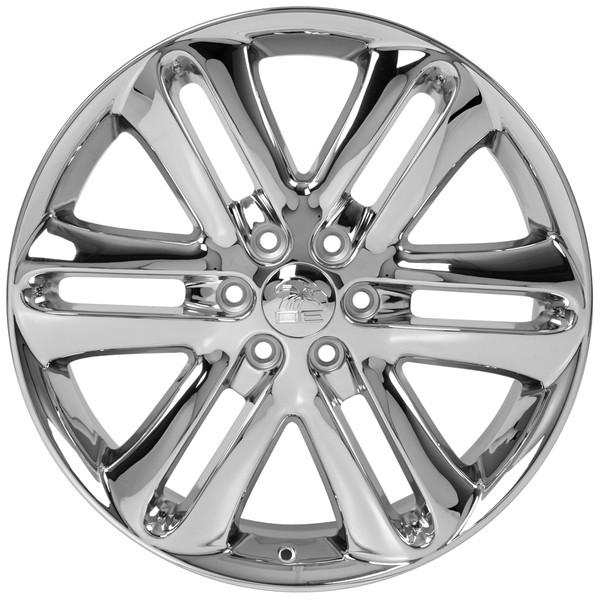 Ford F150 Rims And Tires Fr76 22x9 Chrome F 150 Wheels Bridgestone
