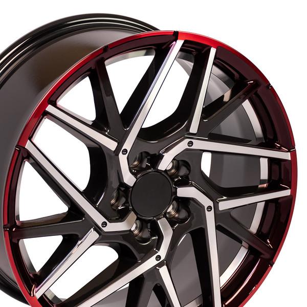 Honda Civic Rims Gunmetal Machined