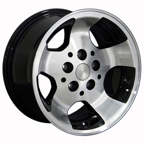 15x8 Black rim for Jeep Wrangler TJ