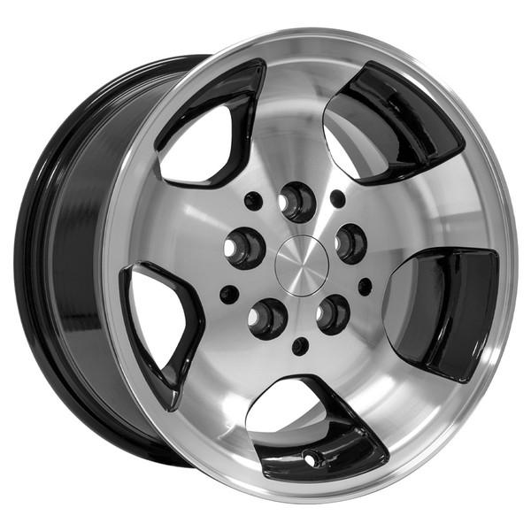 15x8 Black rim for Jeep Cherokee XJ