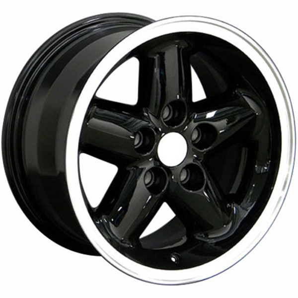 15x8 Black rim for Jeep Cherokee