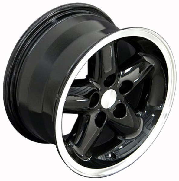 Black 15x8 rim for Jeep Wrangler YJ