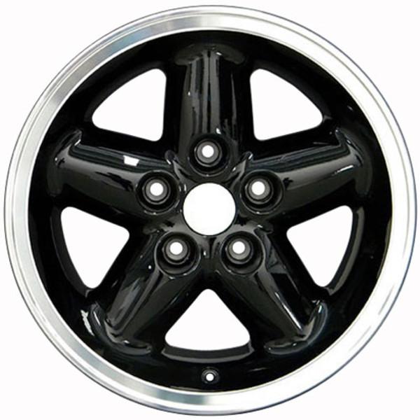 Black 15x8 rim for Jeep Cherokee XJ