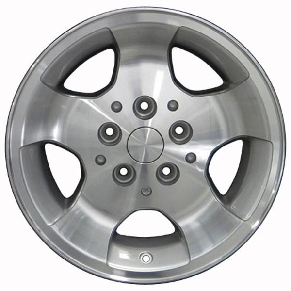 15x8 Silver rim for Jeep TJ