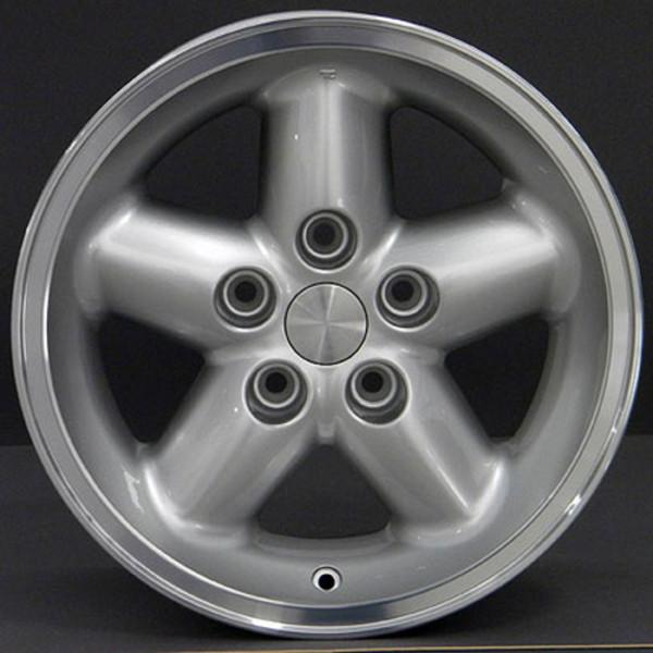 Silver 15x8 Wheel for Jeep Wrangler