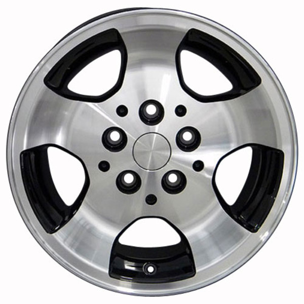 Set Black Wheels for Jeep Wrangler