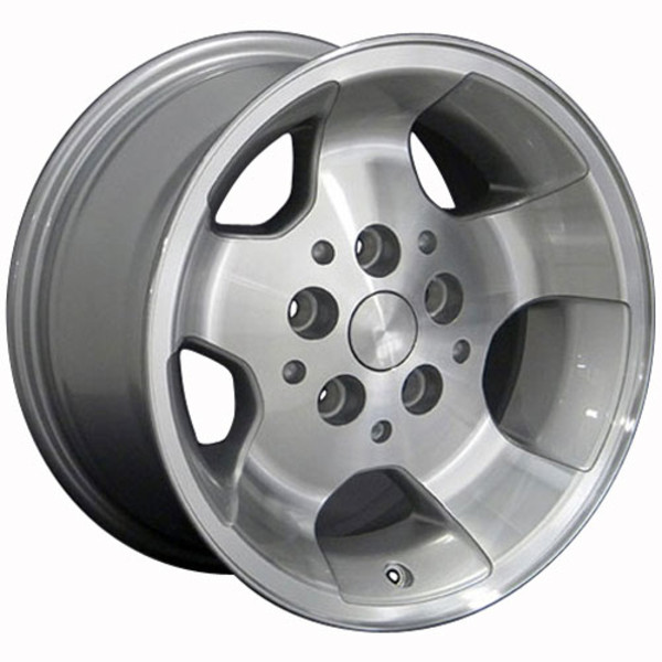Set of 15x8 Silver rims for Jeep TJ