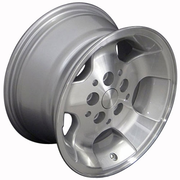 Set of 15x8 Silver rims for Jeep XJ