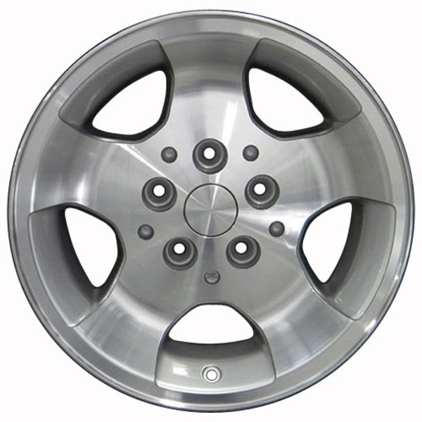 Set Silver rims for Jeep Cherokee