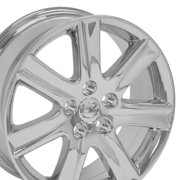 Lexus Es 350 Tires: Lexus ES 350 Style Replica Wheel Chrome17x7