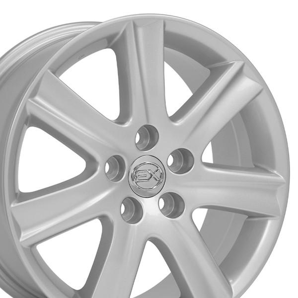 Lexus Es 350 Tires: Lexus ES 350 Style Replica Wheel Silver 17x7