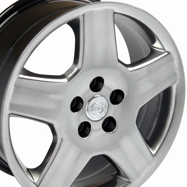 LS430 Wheels Hollander 74179 black