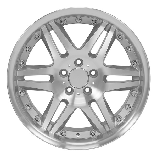 Mercedes Benz Rims >> 18 Inch Rim Fits Mercedes Style Mb09 18x9 5 Silver Machined Wheel