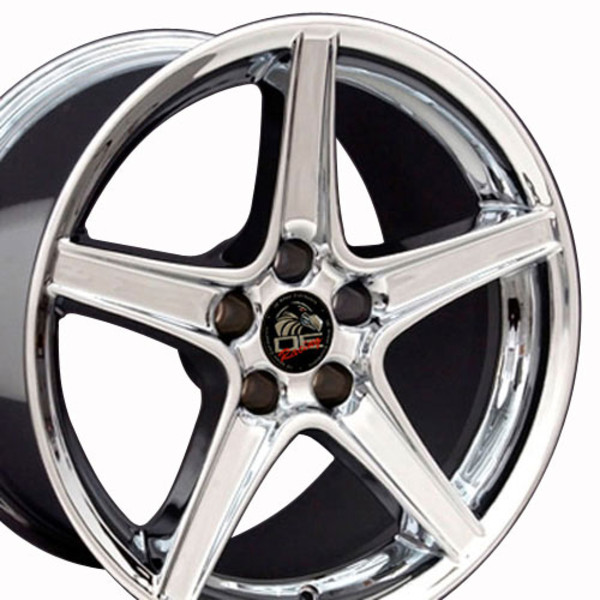 Chrome Rims fit Ford Mustang 18