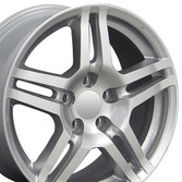 17x8 Silver rims for Acura TL
