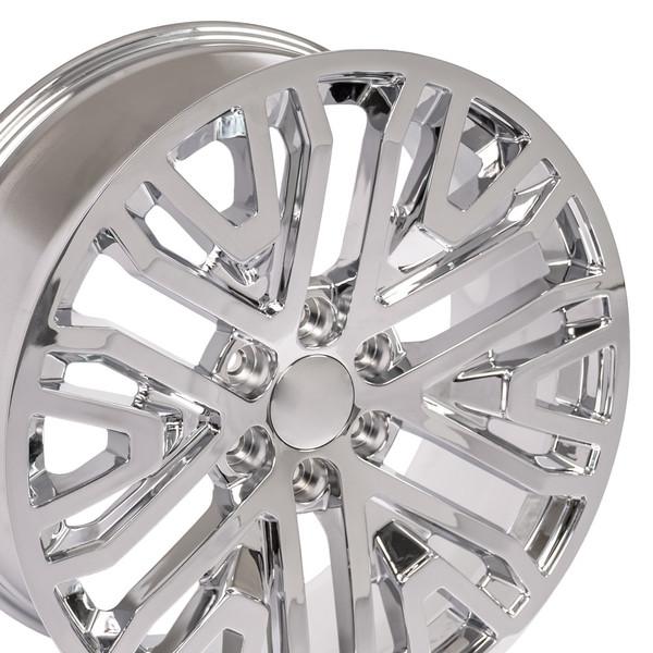 Wheel and tire set Silverado 2019