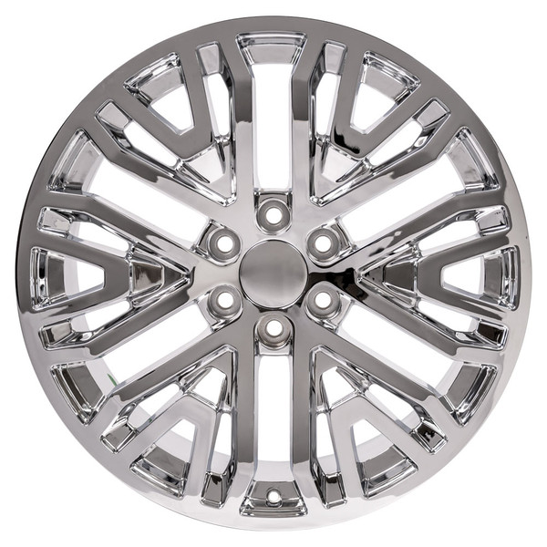 Wheel and tire set 2019 Silverado