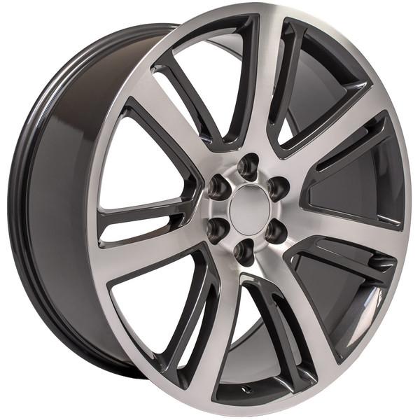 """24"""" Cadillac Escalade Wheels And Tires CA88 24x10 Escalade"""
