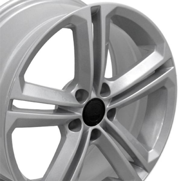 Jetta style rim fits GTI silver